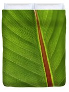 Banana Leaf Duvet Cover by Heiko Koehrer-Wagner