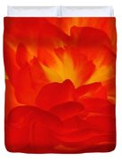 Begonia Named Nonstop Apricot Duvet Cover