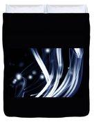 Blue Lines  Duvet Cover by Les Cunliffe
