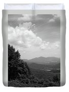Blue Ridge Mountains - Virginia Bw 3 Duvet Cover