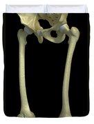 Bones Of The Upper Legs Duvet Cover