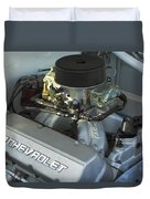 Chevrolet Engine Duvet Cover