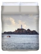 Corbiere Lighthouse - Jersey Duvet Cover