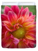 Dahlia Named Brian's Sun Duvet Cover