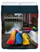Water Adventure Awaits Duvet Cover