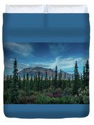 Denali Highway, Route 8, Offers Views Duvet Cover