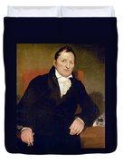 Eli Whitney (1765-1825) Duvet Cover
