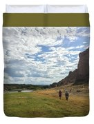 Exploring Big Bend National Park Duvet Cover