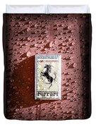 Ferrari Emblem Duvet Cover