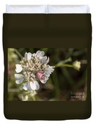 Flower Crab Spider Duvet Cover
