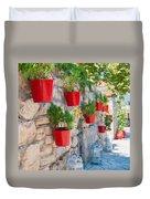 Flower Pots 2 Duvet Cover