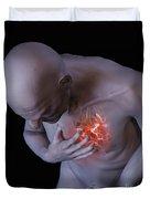 Heart Attack Duvet Cover