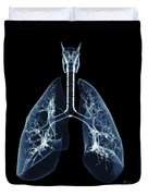 Human Lungs Duvet Cover