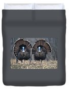 Jake Eastern Wild Turkeys Duvet Cover