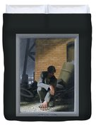 6. Jesus Prays Alone / From The Passion Of Christ - A Gay Vision Duvet Cover