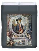 John Paul Jones (1747-1792) Duvet Cover