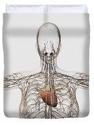 Medical Illustration Of Female Duvet Cover