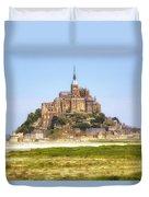 Mont Saint-michel - Normandy Duvet Cover