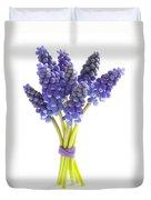 Muscari Or Grape Hyacinth Duvet Cover