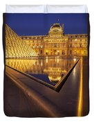 Musee Du Louvre Duvet Cover by Brian Jannsen