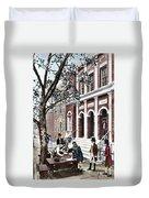 New York Stock Exchange Duvet Cover