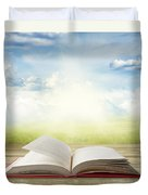 Open Book Duvet Cover