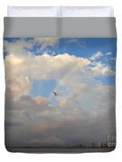 6- Rainbow And Seagull Duvet Cover