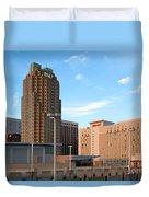Raleigh Skyline Duvet Cover