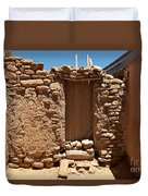 Sky City Acoma Pueblo Duvet Cover