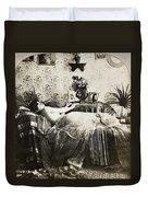 Sleeping Woman, C1900 Duvet Cover