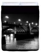 Southwark Bridge London Duvet Cover