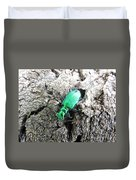 6 Spotted Tiger Beetle Duvet Cover
