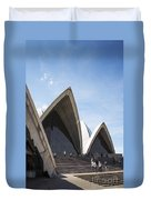 Sydney Opera House Detail In Australia  Duvet Cover