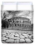 The Majestic Coliseum - Rome Duvet Cover