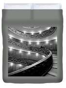 The Vatican Stairs Duvet Cover