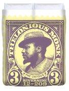 Thelonious Monk -  The Unique Thelonious Monk Duvet Cover