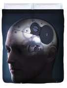 Thought Mechanism Duvet Cover