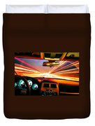 Traveling At Speed Of Light Duvet Cover
