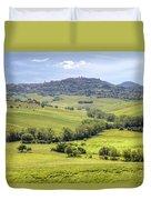 Tuscany - Montepulciano Duvet Cover
