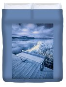 Variations Of A Dock Duvet Cover