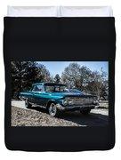 61 Chevrolet Biscayne Duvet Cover