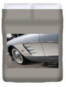 61 Corvette-grey-sidepanel-9241 Duvet Cover