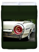 62 Thunderbird Tail Light Duvet Cover