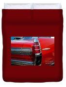 63 Pontiac Bonneville Duvet Cover
