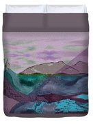 633 - A Dark Stormy Day   Duvet Cover