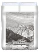 Desolation Sound Quiet Anchorage     Duvet Cover