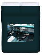 65 Plymouth Satellite Interior-8499 Duvet Cover