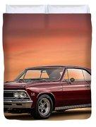 '66 Chevelle Duvet Cover
