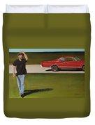 67 Ford Galaxie Duvet Cover