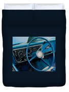 68 Chevy Truck Dash Duvet Cover